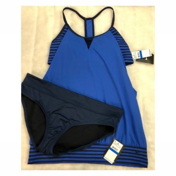 234b11241e NIKE Womens Laser Sport Tankini Set Top and Bottom